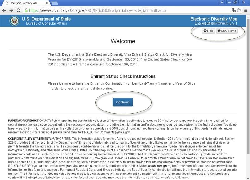 Официальный сайт лотереи грин-карт
